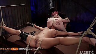 BDSM EXPERIMENTS WITH TWO HOT SLUTS