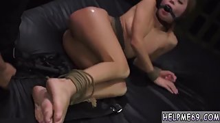 Two blondes playing bondage and domination penny anal