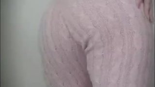 Casual PAWG twerking PINK TRACKSUIT big ass
