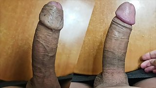 Male Moans & Masturbates Big Cock
