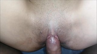 Stepsister Wanted a Massage and then Asked me to Cum on pussy