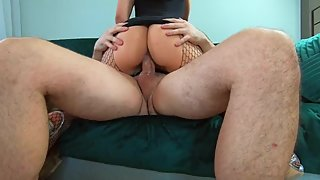Amateur couple fucking after party