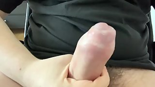 Jerking off after a hard schoolday