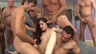 GangBang with Sasha Grey