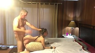 Naughty 18yo stepdaughter gets hard fucked by perverted stepdad