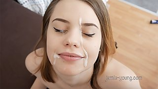 Jamie Young First Cumshot Compilation!!!