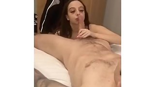 Fit Alexis Making Herself Choke On His Cock