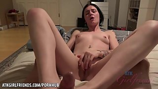 Doggystyle POV Pounding & Cumshot Facial Rosalyn Sphinx ATK Girlfriends