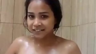 Bathroom Leak Thai Girl