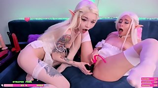 Sweet Elfs fuck pussy with dildo teens webcam Alicebong