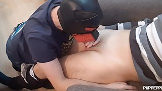 Pup Pepper goes to therapy and gets mouth and ass fucked (rough and raw)
